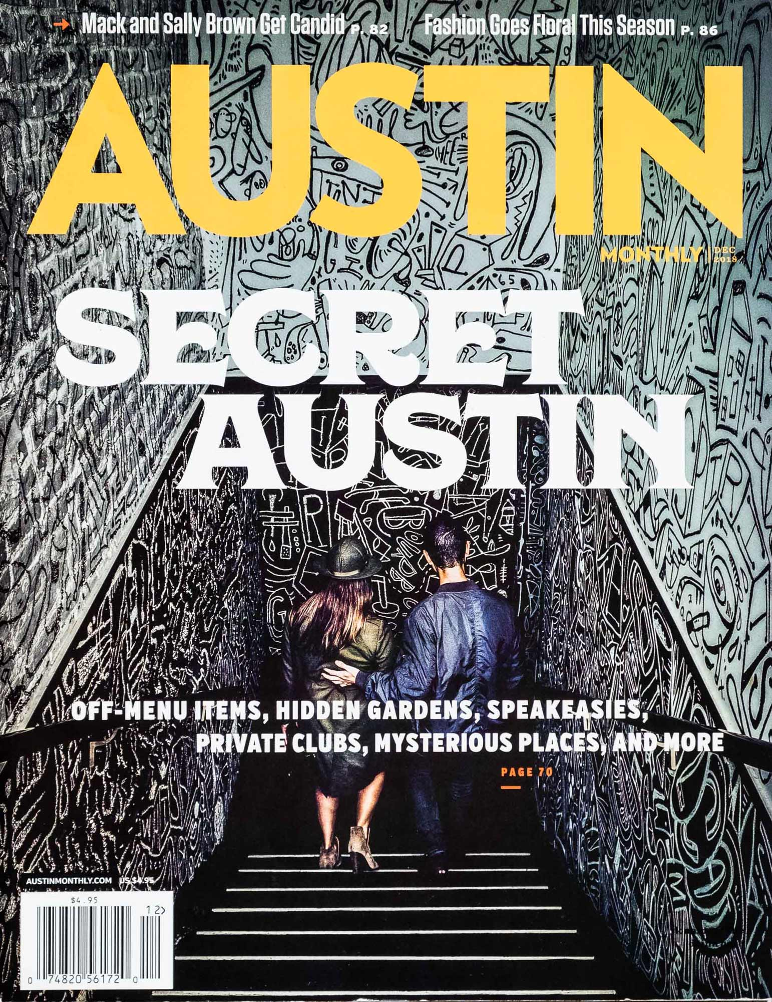 Tear Sheet: Austin-Monthly-Secret-Cover