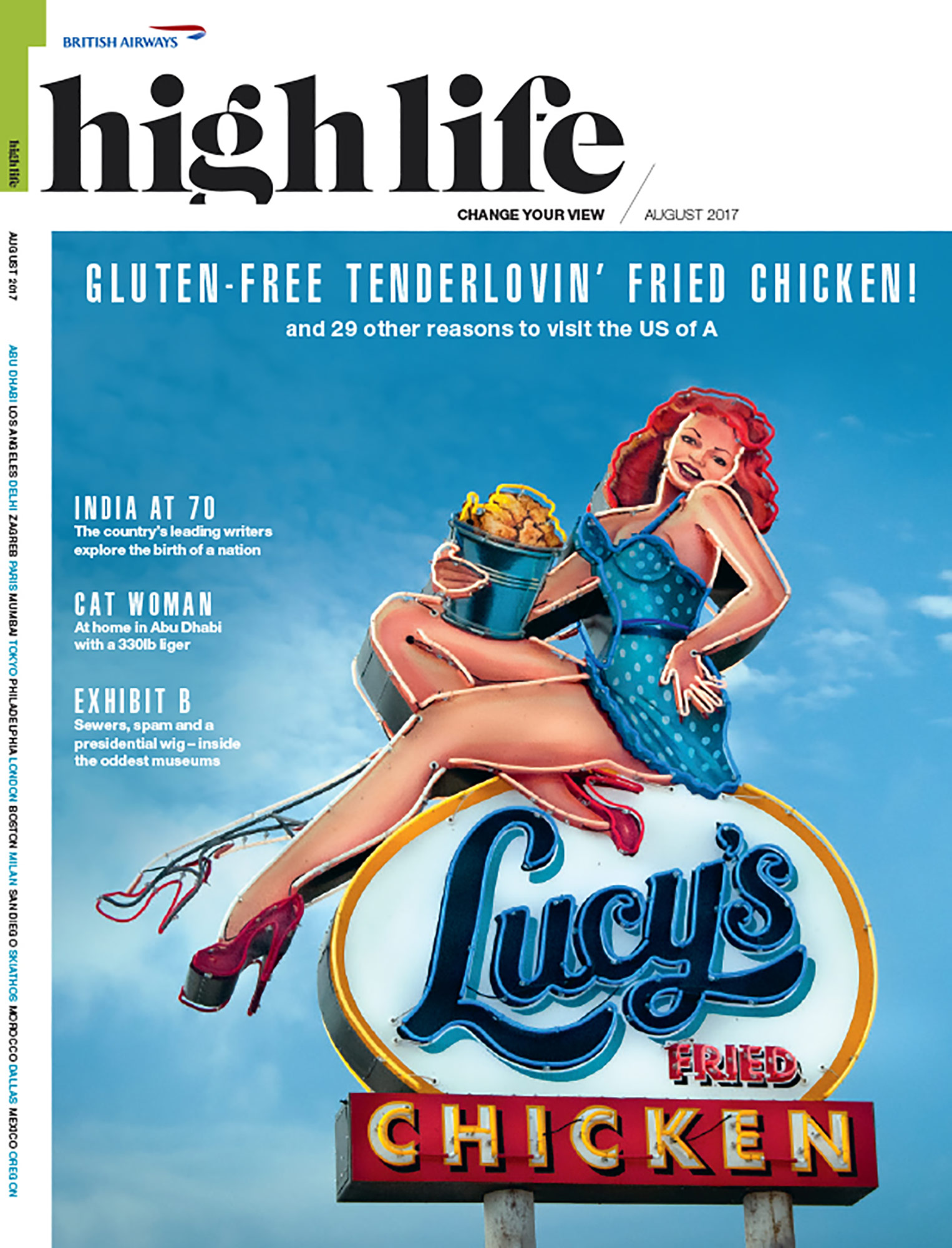 British Airways -High-Life-Cover - Lucy