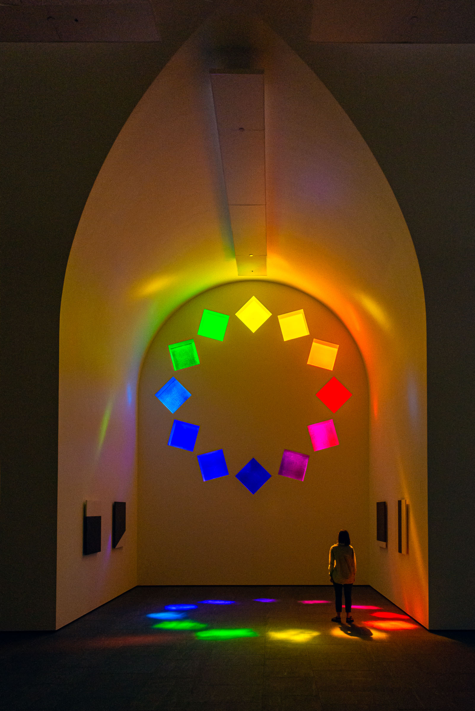 Cathedral light - Ellsworth-Kelly-Blanton-Museum-Austin-TX-