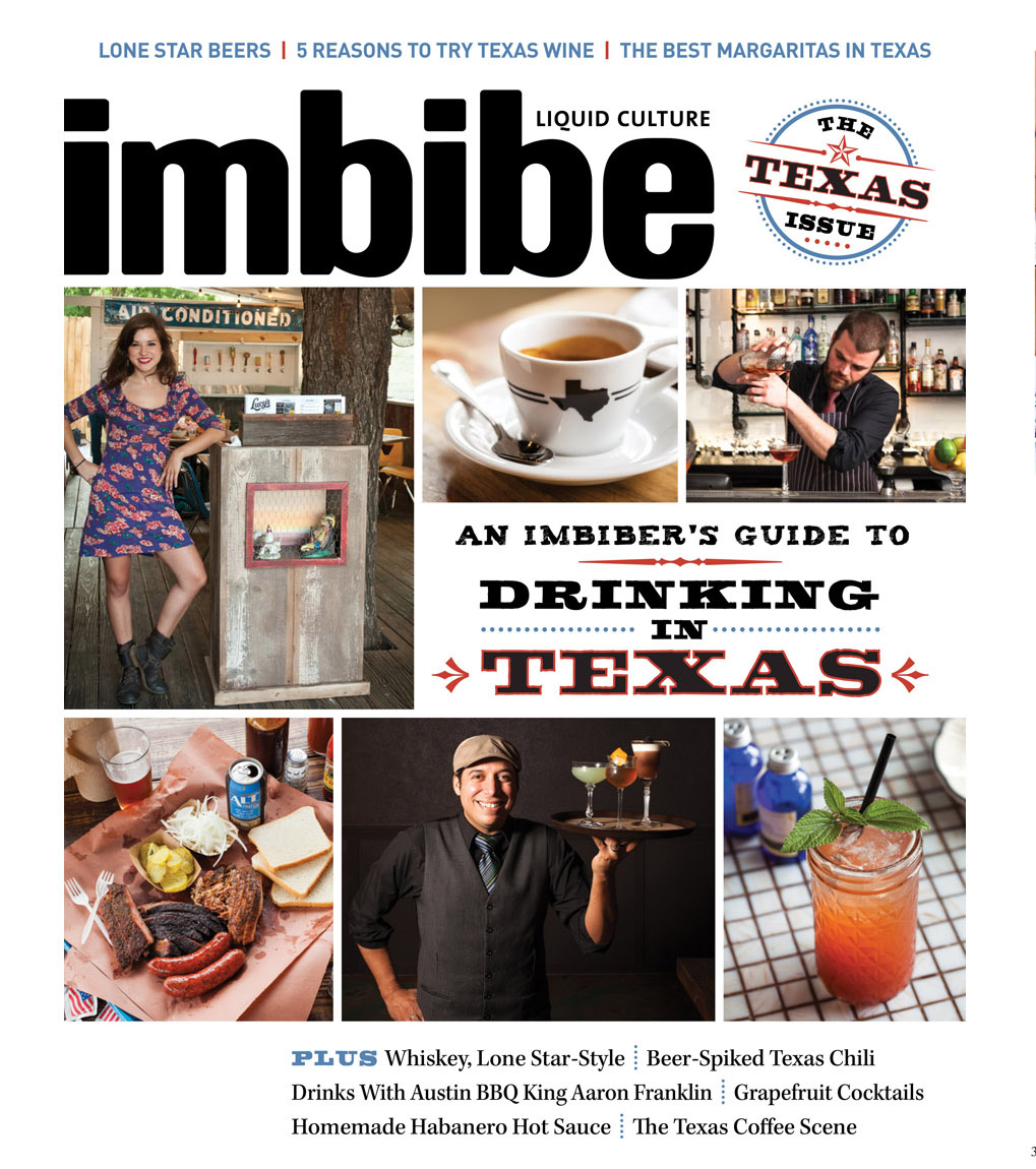Tear Sheet: Imbibe Magazine Cover