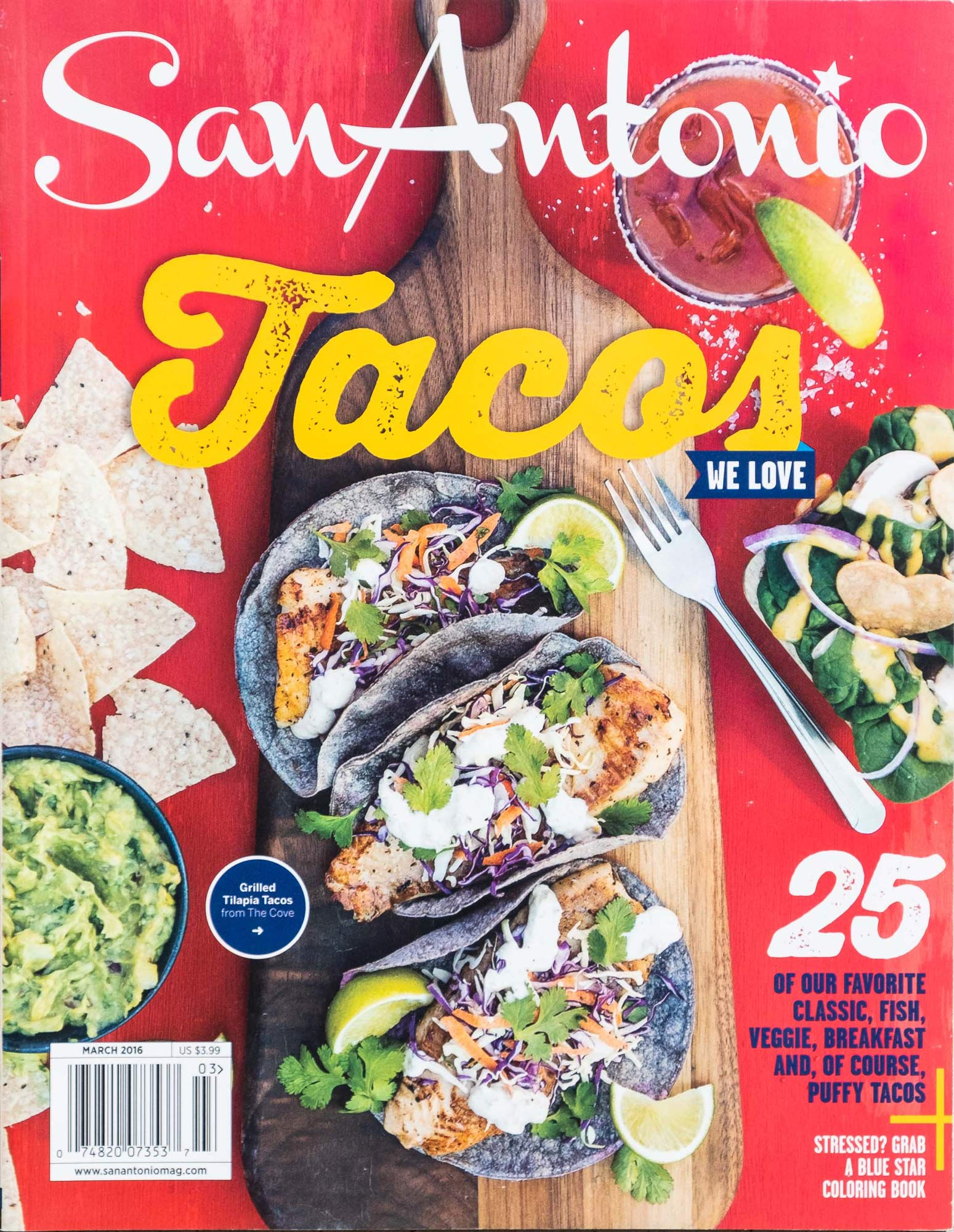 Tear Sheet: San-Antonio-Magazine -Tacos-Cover