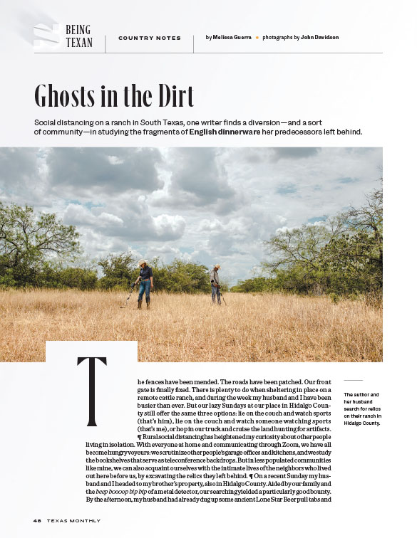 Texas Monthly article on Melissa Guerra in McAllen Texas